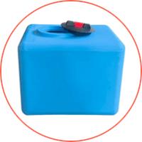 Polyethylene Tanks mit Trinkwasser,- und Lebensmittelzulassung