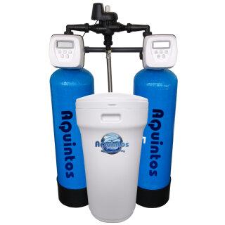Aquintos Duplex Kombifilteranlage ALLinONE ECO MIX 0844 mit separatem Salzsolebehälter