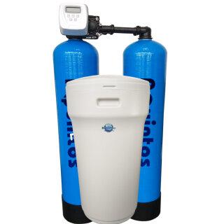 Aquintos TWIN DUPLEX ALLinONE ECO MIX 1252 Kombifilteranlage mit separatem Salzsolebehälter