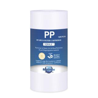 BIG Blue Jumbo Polypropylen Sedimenfilter PP BB10 10 x 4,5 Zoll 1 micron
