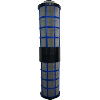 """20"""" Zoll Aquintos Big Blue Wasserfilter mit einem Edelstahl Filtervlies in 150µ- auswaschbar"""