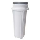 Osmoseanlage Wasserfilter Filtersystem Filtergehäuse 10 Zoll 1/4 IG Filterglocke weiß von Aquintos