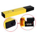 pH Wert Messgerät pH Wert messen im Poolwasser Heizungswasser Brunnenwasser säuerlich oder alkalisches Wasser messen Digitales pH Wert Messgerät LCD-Display gelb