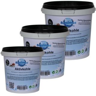 Aktivkohle Granulat Filterkohle Kokoskohle Activated Carbon Trinkwasserzugelassen Körnung 2.36mm-0.06mm
