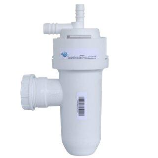 Aquintos - Siphon Anschluss-Set für Haustechnik-Weichwasseranlagen Kanalwasseranschluss