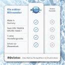 "Aquintos Rückspülfilter mit Druckminderer und Manometer RDX 1 - 10 bar 1""Zoll - DN25 Hauswasserfilter Hauswasserstation"