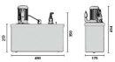 Aquintos Salzwasser Sole Hebeanlage SWH70 - 70l/min