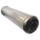 Edelstahlfilter Edelstahl Filterelement 10 Zoll Wasserfilter bis 93°C auswaschbar