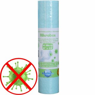 Antibakterieller Trinkwasserfilter 10  x 2,5 Zoll in 5µm -  nanosilver technology
