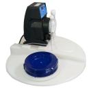 AquinDos Flex 01-15 Dosieranlage Dosiersystem mit 60L Chemikalienbehälter - Kontaktwasserzähler DN20 - Niveauregeleinheit