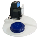 AquinDos Flex 01-15 Dosieranlage Dosiersystem mit 100L Chemikalienbehälter - Kontaktwasserzähler DN25 - Niveauregeleinheit