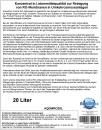 AQuinDos Control RO Antiscalant 20 Liter für RO Umkehrosmose-Anlagen Reiniger RO Membranen mit Zulassung nach Trinkwasser-Verordnung