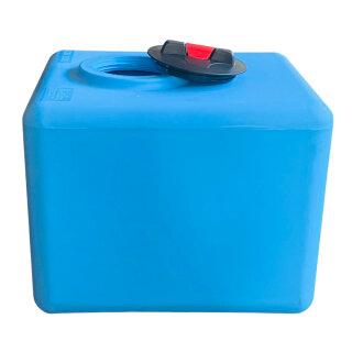 Aquintos RSB200 Trinkwasser.- und Brauchwassertank 200 Liter mit 20 cm Deckel und Entlüftung für Trinkwasser - Prozesswasser - Osmosewasser mit Trinwasser.- und Lebensmittelzulassung