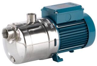 Aquintos HMK 204E PRO Horizontale mehrstufen Kreiselpumpe - Blockpumpe aus Edelstahl AISI 316L für Trinkwasser Prozesswasser Osmose und VE- Wasser