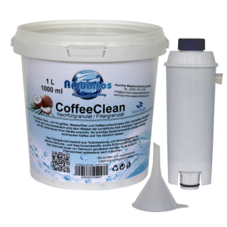Nachfüllset Wasserfilter passend für DeLonghi Kaffeevollautomaten mit der DLS C002 / DLSY002 / SER3017 Filterpatrone
