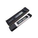 Leitwertmessgerät Leitfähigkeitsmessgerät Leitwert und Wassertemperatur messen Digitales TDS Meter 0 - 9999+ ppm / 0 - 50°C