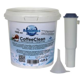 Wasserfilter Filterpatrone nachfüllbar passend für Jura White 60209 für Jura Impressa bis Baujahr 2010