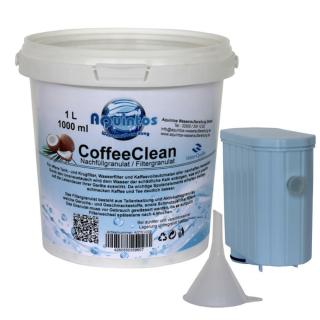 Nachfüllset AquaClean Kalk Wasserfilter nachfüllbar passend für Saeco Philips Kaffeevollautomaten mit der Philips CA6903/10 CA6903/22 CA6903/99 AquaClean Wasserfilter