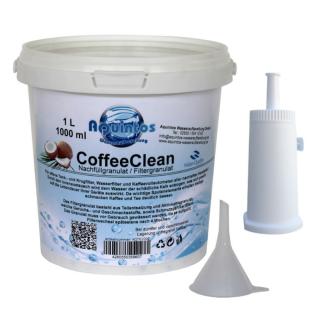AquinTobs Nachfüllset Wasserfilter passend für Sage Appliances Espressomaschinen mit der Sage BES008 Filterpatrone