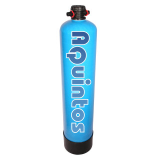 Aquintos CleanVE120 Reinwasserfilter Vollentsalzung Mischbett Ionenaustauscher Reinstwasser VE Vollentsalzungspatrone GFK