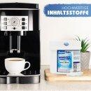 AquinTobs 3-Phasen Reinigungstabletten 57004 Kaffeefettlöser Reinigungstabs 1,6g 200 Stück für Kaffeevollautomaten und Espressomaschinen