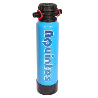 Aquintos CleanVE12 Reinwasserfilter Vollentsalzung Mischbett Ionenaustauscher Reinstwasser VE Vollentsalzungspatrone GFK