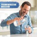 Wasserhärte messen Wasserhärte bestimmen Titrierlösung in °dH Wasserhärtemessbesteck Aquintos Doppelpackung