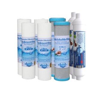 Wasserfilter Filter Osmose Umkehrosmose 5 stufig Ersatzfilter Wasser Osmosis