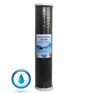 BIG Blue Aktivkohlefilter Trinkwasserfilter CTO Block-Aktivkohle 20 x 4,5 Zoll