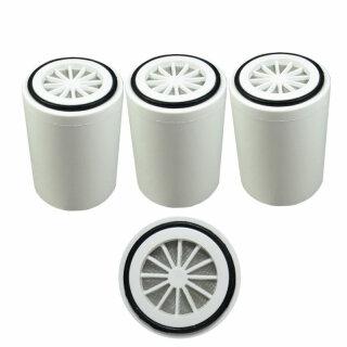 3 x Aquintos Ersatzfilterpatrone für Duschfilter