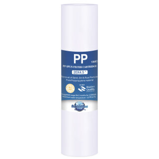 BIG Blue Jumbo Polypropylen Sedimenfilter PP BB20 20 x 4,5 Zoll 10 micron