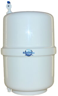 Osmose Mebranen Drucktank Vorratstank aus lebensmittelechten Materialien 12 Liter / 4 Gal aus GFK
