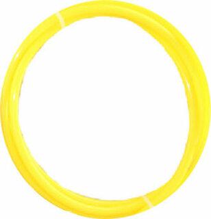 Wasserschlauch Anschlussschlauch 1/4 Zoll 1 Meter gelb Omoseanlage Kühlschrank