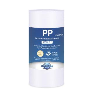 BIG Blue Jumbo Polypropylen Sedimenfilter PP BB10 10 x 4,5 Zoll 10 micron