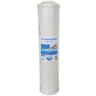 BIG Blue Aktivkohlefilter Trinkwasserfilter GAC Granulat-Aktivkohle 20 x 4,5 Zoll