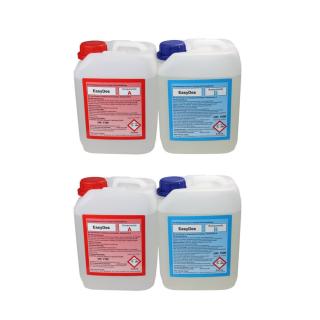 EasyDes Dosiermittel zurTrinkwasserdesinfektion beseitigung Biofilme 2 x 2,5 L A+B