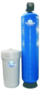 Aquintos MEC 1200 WS 1,5 CI Einzel-Enthärtungsanlage-Wasserenthärtungsanlage-Entkalkungsanlage-Weichwasseranlage-Wasserenthärter mit separatem Salz,- Solebehälter für Industrie und Gewerbe